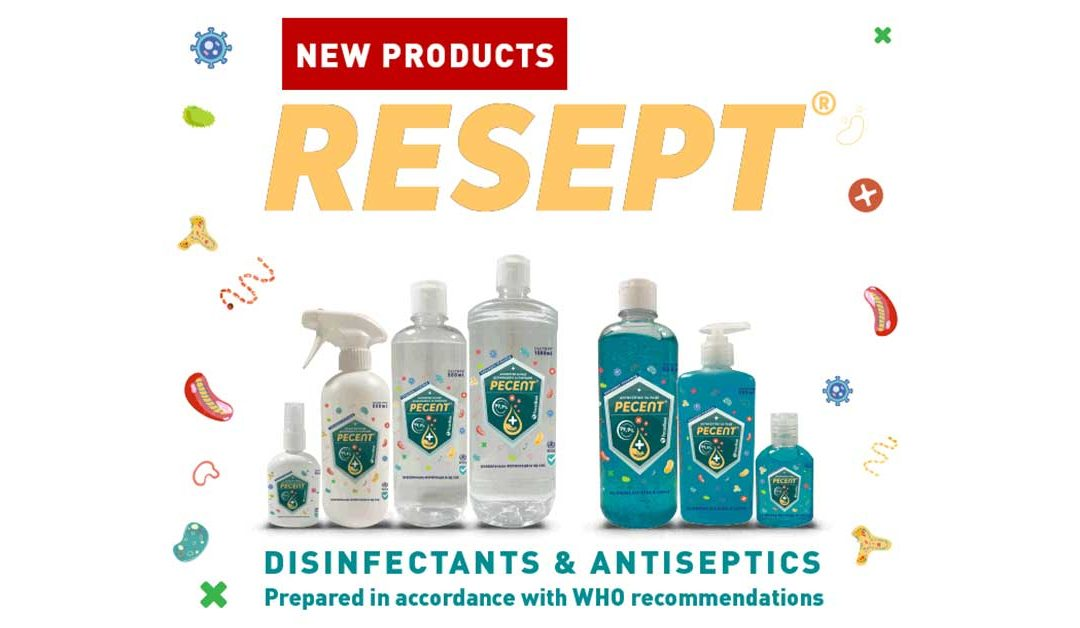 BE RESPONSIBLE, DISINFECT YOURSELF